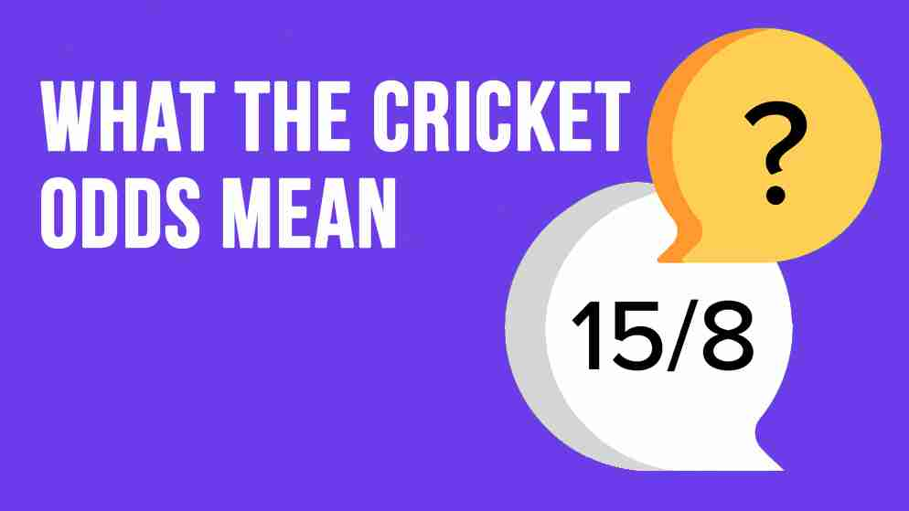 Cricket match betting rates